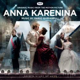 Обложка к диску с музыкой из фильма «Анна Каренина»