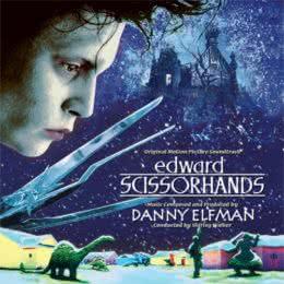Обложка к диску с музыкой из фильма «Эдвард руки-ножницы»