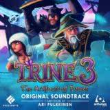 Маленькая обложка диска с музыкой из игры «Trine 3: The Artifacts of Power»