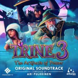 Обложка к диску с музыкой из игры «Trine 3: The Artifacts of Power»