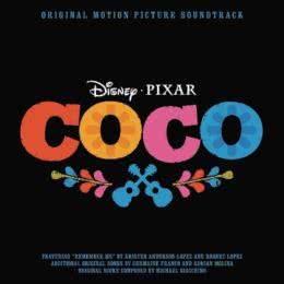 Обложка к диску с музыкой из мультфильма «Тайна Коко»