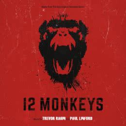 Обложка к диску с музыкой из сериала «12 обезьян (1 и 2 сезон)»