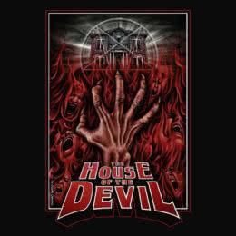 Обложка к диску с музыкой из фильма «Дом дьявола»