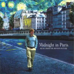 Обложка к диску с музыкой из фильма «Полночь в Париже»