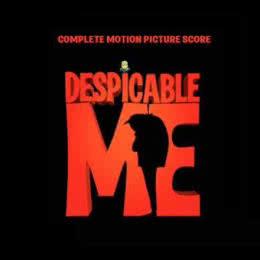Обложка к диску с музыкой из мультфильма «Гадкий я»
