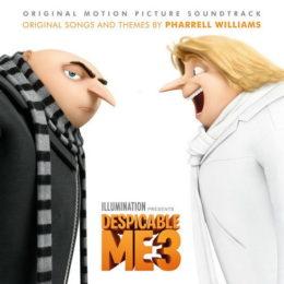 Обложка к диску с музыкой из мультфильма «Гадкий я 3»