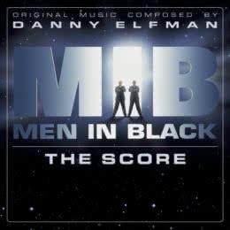 Обложка к диску с музыкой из фильма «Люди в чёрном»