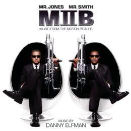 Обложка к диску с музыкой из фильма «Люди в чёрном 2»
