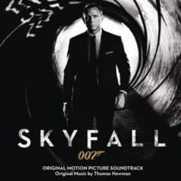 Обложка к диску с музыкой из фильма «007: Координаты «Скайфолл»»