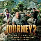 Маленькая обложка диска c музыкой из фильма «Путешествие 2: Таинственный остров»