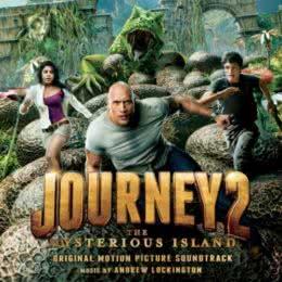 Обложка к диску с музыкой из фильма «Путешествие 2: Таинственный остров»
