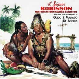 Обложка к диску с музыкой из фильма «Синьор Робинзон»