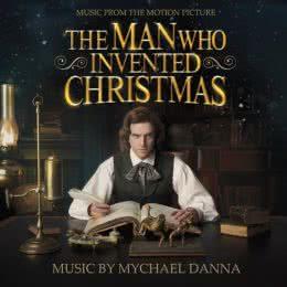 Обложка к диску с музыкой из фильма «Человек, который изобрёл Рождество»