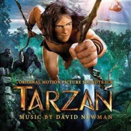 Обложка к диску с музыкой из мультфильма «Тарзан»