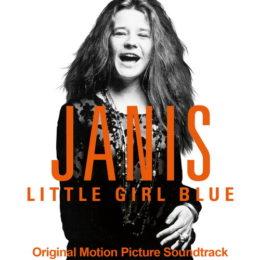 Обложка к диску с музыкой из фильма «Дженис: Грустная маленькая девочка»