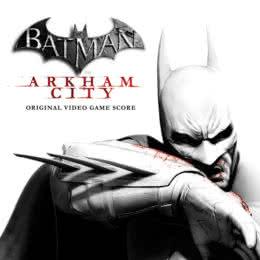 Обложка к диску с музыкой из игры «Batman: Arkham City»