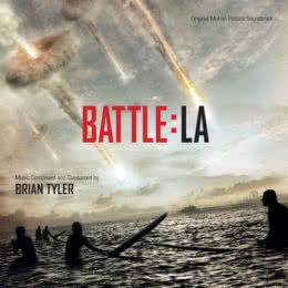 Обложка к диску с музыкой из фильма «Инопланетное вторжение: Битва за Лос-Анджелес»