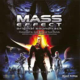 Обложка к диску с музыкой из игры «Mass Effect»