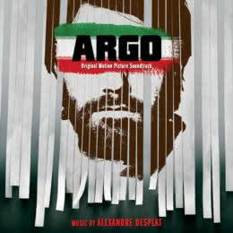 Обложка к диску с музыкой из фильма «Операция «Арго»»