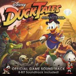 Обложка к диску с музыкой из игры «DuckTales: Remastered»