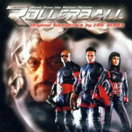 Обложка к диску с музыкой из фильма «Роллербол»