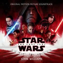 Обложка к диску с музыкой из фильма «Звездные войны: Последние джедаи»