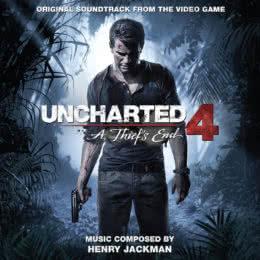 Обложка к диску с музыкой из игры «Uncharted 4: A Thief's End»