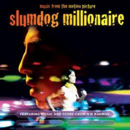 Обложка к диску с музыкой из фильма «Миллионер из трущоб»