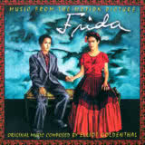 Маленькая обложка диска c музыкой из фильма «Фрида»