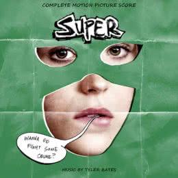 Обложка к диску с музыкой из фильма «Супер»