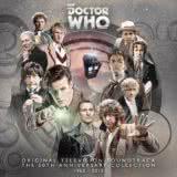 Маленькая обложка диска с музыкой из сериала «Доктор Кто»