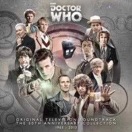 Обложка к диску с музыкой из сериала «Доктор Кто»