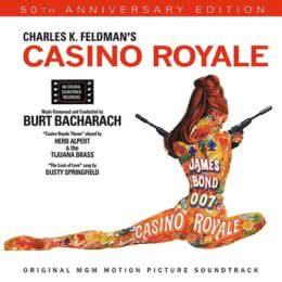 Обложка к диску с музыкой из фильма «Казино «Рояль»»