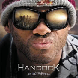Обложка к диску с музыкой из фильма «Хэнкок»