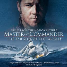 Обложка к диску с музыкой из фильма «Хозяин морей: На краю земли»