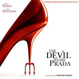 Обложка к диску с музыкой из фильма «Дьявол носит Прада»