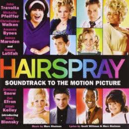 Обложка к диску с музыкой из фильма «Лак для волос»