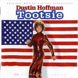 Обложка к диску с музыкой из фильма «Тутси»
