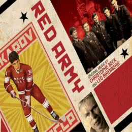 Обложка к диску с музыкой из фильма «Красная армия»