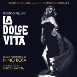 Обложка к диску с музыкой из фильма «Сладкая жизнь»