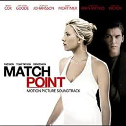 Обложка к диску с музыкой из фильма «Матч Поинт»