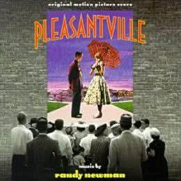 Обложка к диску с музыкой из фильма «Плезантвиль»