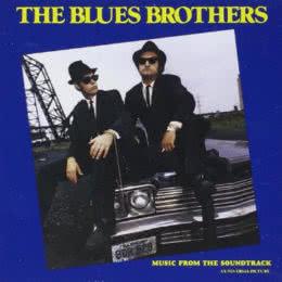 Обложка к диску с музыкой из фильма «Братья Блюз»