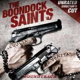 Обложка к диску с музыкой из фильма «Святые из Бундока»