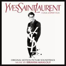Обложка к диску с музыкой из фильма «Ив Сен-Лоран»