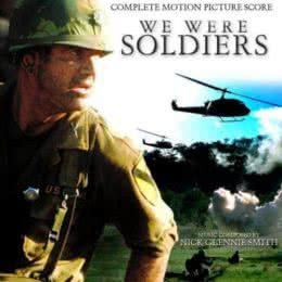 Обложка к диску с музыкой из фильма «Мы были солдатами»