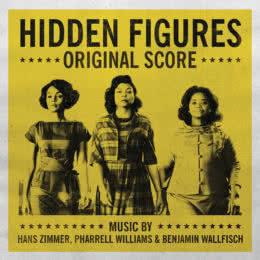 Обложка к диску с музыкой из фильма «Скрытые фигуры»