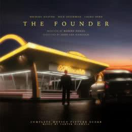 Обложка к диску с музыкой из фильма «Основатель»
