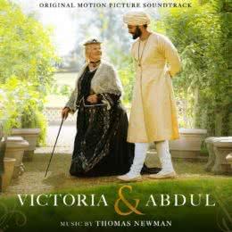 Обложка к диску с музыкой из фильма «Виктория и Абдул»