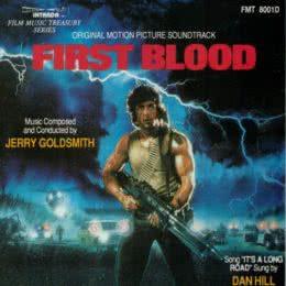 Обложка к диску с музыкой из фильма «Рэмбо: Первая кровь»